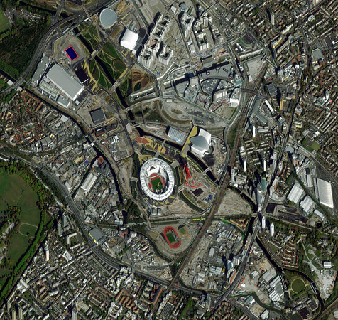 "uk_london_olympicvillage_media_oct22_2011_dg.jpg Olympic Village, London, England-October 22, 2011: This is a satellite image image of the Olympic Village in London, England.   <a href=""http://www.digitalglobe.com"">http://www.digitalglobe.com</a> (credit: DigitalGlobe)"