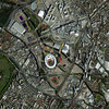 "uk_london_olympicvillage_media_oct22_2011_dg.jpg Olympic Village, London, England-October 22, 2011: This is a satellite image image of the Olympic Village in London, England.   <a href=""http://www.digitalglobe.com"">http://www.digitalglobe.com</a> (credit: DigitalGlobe)"