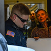 KRISTOPHER RADDER - BRATTLEBORO REFORMER<br /> Members of the Brattleboro Police Department are called to remove Tim Stevenson, Li Pon Owen, and Daniel Sicken, who have barricaded themselves in the entryway of the TD Bank on Main Street in Brattleboro, Vt., on Wednesday, Feb 22, 2017.