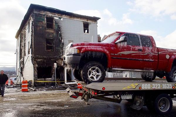 Dalton Ave. Fire in Pittsfield - 011517