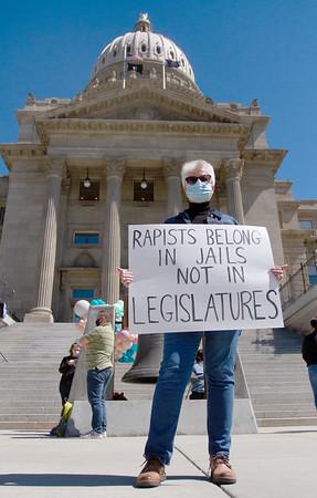 Denim Day Rapist Sign II