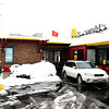 "A car exits the double drive-thru on Friday, Feb. 3, at the McDonalds on 28th Street in Boulder. For a video about why a new McDonalds is being built go to  <a href=""http://www.dailycamera.com"">http://www.dailycamera.com</a><br /> Jeremy Papasso/ Camera"