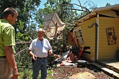 East Cobb Tornado Damage