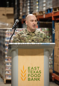 Texas Army National Guard Assists East Texas Food Bank