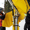 "Nick Sprague, left, and Derek Holden, put protective padding on a snow makers device on Thursday.<br /> Eldora Mountain Resort will open on Friday November 16, 2012.<br /> For more photos and a video from Eldora, go to  <a href=""http://www.dailycamera.com"">http://www.dailycamera.com</a><br /> Cliff Grassmick  / November 15, 2012"