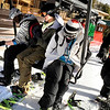 "Jesse Unitt, 17, of Superior, left, J.D. Sell, 17, of Erie, and Spencer Unitt, 18, of Superior get on the chairlift during the opening day of Eldora Ski Resort on Friday, Nov. 19, in Nederland.<br /> For more photos and video of opening day go to  <a href=""http://www.dailycamera.com"">http://www.dailycamera.com</a><br /> Jeremy Papasso"