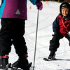 "Emannuel Tekosis, 6, of Blackhawk, smiles as he tries out some skis on Friday, Nov. 18, during Eldora Mountain Resort's opening day. For more photos and video of opening day go to  <a href=""http://www.dailycamera.com"">http://www.dailycamera.com</a><br /> Jeremy Papasso/ Camera"