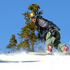"Trevor Newman, of Louisville, right, speeds down the hill in front of his friend David Nyberg, of Boulder, on Friday, Nov. 18, during Eldora Mountain Resort's opening day. For more photos and video of opening day go to  <a href=""http://www.dailycamera.com"">http://www.dailycamera.com</a><br /> Jeremy Papasso/ Camera"