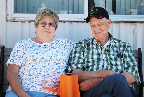 LEANDRA BEABOUT | THE GOSHEN NEWS<br /> Walt and Diane Borders of Mishawaka