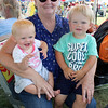 JULIE CROTHERS BEER | THE GOSHEN NEWS<br /> Rita Baker holding Rebecca Weldy, 7 months, and Jarius Weldy, 2, all of Bristol