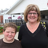JOHN KLINE | THE GOSHEN NEWS <br /> Shawn Eash, 10, and Malinda Eash