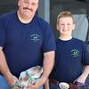 LEANDRA BEABOUT | THE GOSHEN NEWS<br /> David Cushwa and Jake Cushwa, both of Middlebury