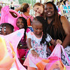 ELIJAH DURNELL | THE GOSHEN NEWS<br /> Katrina Pringle with Kamora, 5, K.C., 4, and Joniah, 3, all of Elkhart