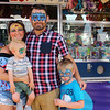 ELIJAH DURNELL | THE GOSHEN NEWS<br /> Phil and Olivia Flickinger with Jonah Flickinger, 1, and Blake Almony, 5, all of Elkhart