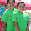 ELIJAH DURNELL| THE GOSHEN NEWS<br /> Olivia, 11, and Daniela, 9, both of Goshen