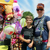 ELIJAH DURNELL | THE GOSHEN NEWS<br /> Danielle Hunt and Travis Hunt, 10, of Goshen