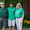 The Swihart family, named this year's Elkhart County 4-H Fair Family of the Year, is pictured. From left are Stuart Swihart, Tristan Swihart, and Cindy Swihart.