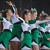 JAY YOUNG | THE GOSHEN NEWS<br /> Members of the Concord High cheerleading squad run through their routine while competing in the 44th annual cheerleading contest that is part of the Elkhart County 4-H Fair Friday afternoon. Three cheer squads took part in the competitive portion of the event, with Concord taking first place, Wawasee High taking second place and Oregon-Davis High placing third. John Adams High was also on hand as the only squad competing in the spirit squad portion of the event. Other activities included a jump off and demonstrations by Indiana Ultimate.