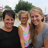 JOHN KLINE | THE GOSHEN NEWS <br /> Jill Miller, Marie Weldy, 4, and Chelsie Weldy