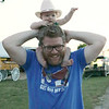 STACEY DIAMOND | THE GOSHEN NEWS<br /> Piper Glassman, 6 months, and Chris Glassman, both of Elkhart