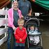 Janna and Kenan Steele with children Tristan, 5, and Sawyer, 1, from Bremen