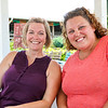 LEANDRA BEABOUT | THE GOSHEN NEWS<br /> Kris Miller and Carmen Cunningham, both of Goshen