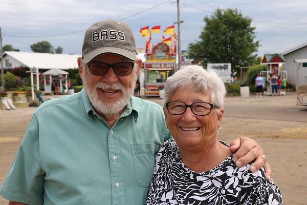 JOHN KLINE | THE GOSHEN NEWS<br /> Linda Farmwald and Andy Farmwald, both of Milford