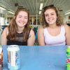 LEANDRA BEABOUT | THE GOSHEN NEWS<br /> McKenna Thompson, 17, and Chloe Taylor, 17, both of Goshen
