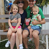 JULIE CROTHERS BEER | THE GOSHEN NEWS<br /> Evelyn Francis, 4, Claudia Francis, Brad Francis, and Elsie Francis, 1, all of Goshen