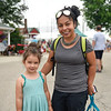 BEN MIKESELL | THE GOSHEN NEWS<br /> Alejandra Floyd, Goshen, with her daughter Nova, 4.
