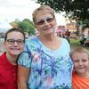 JOHN KLINE | THE GOSHEN NEWS<br /> Gayle McGrath with Delaney McGrath, 12, and Riley McGrath, 8, all of Florida