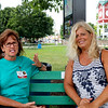 From left, Brenda Wilkinson, of Goshen, and Barb Hahn, of Nappanee