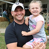 JOHN KLINE | THE GOSHEN NEWS<br /> Dave Gaskill with Lucy Gaskill, 5, both of Goshen