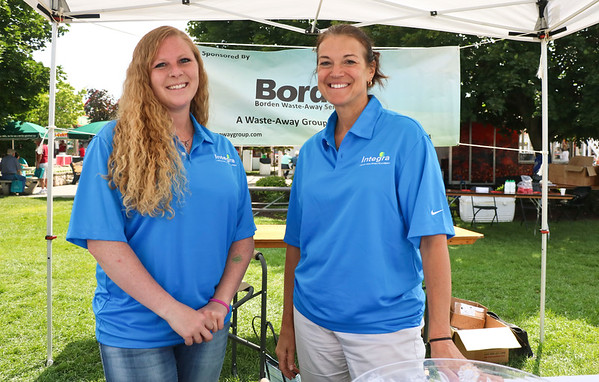 LEANDRA BEABOUT | THE GOSHEN NEWS<br /> Gina Companion, of Elkhart, and Lissie Shell, of Goshen