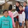 Left, Hanna Ramirez, 9, Brianna Garcia 10, Beyonce Ramirez, 11, Jocelyn Ramirez, 17, and Vennys Ramirez, 13 from Goshen