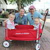 JULIE CROTHERS BEER | THE GOSHEN NEWS<br /> Lucy Gunn, 5, Heidi Gunn, Kevin Gunn, and Stella Gunn, 2, all of Dunlap