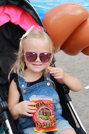 STACEY DIAMOND | THE GOSHEN NEWS<br /> Emersyn Ogle, 3, Granger