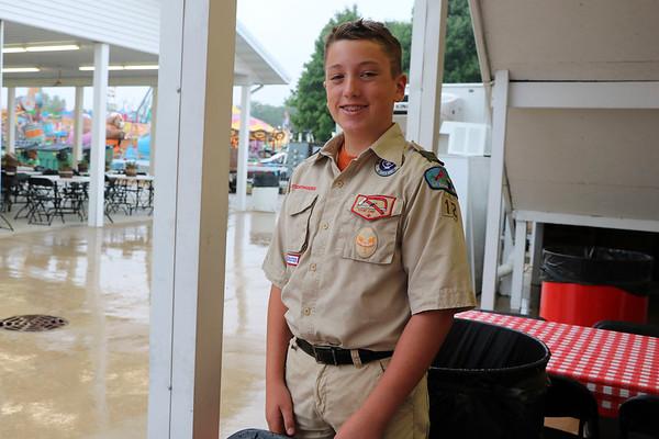 Evan Matthews, 14, from New Paris