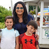 BEN MIKESELL | THE GOSHEN NEWS<br /> Nikki Gupta with Kiran, 9, and Kellen, 7, of Fort Wayne.