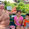 JOHN KLINE | THE GOSHEN NEWS<br /> Sherry Weaver of Goshen with Annalise Weaver, 8, and Brayden Weaver, 3, both of Elkhart