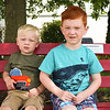 LEANDRA BEABOUT | THE GOSHEN NEWS<br /> Gavin Binder, 2, and Owen Binder, 4, both of Elkhart