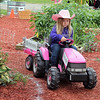 LIZ RIETH | THE GOSHEN NEWS Josies Haas,4, drives the Farm to Market Driving Course. The course teaches children where food comes from.