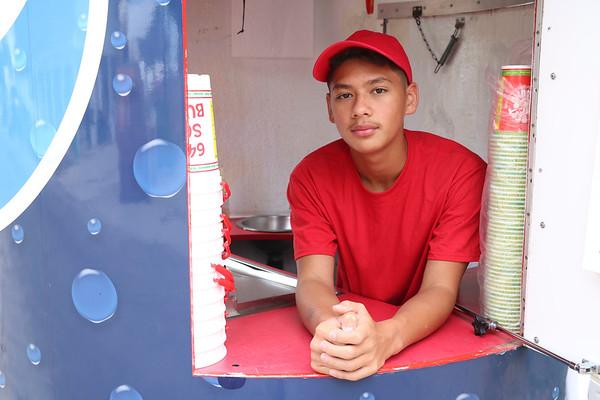 JOHN KLINE | THE GOSHEN NEWS<br /> Jozeah Phoutpannha, 14, of Elkhart