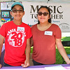 LEANDRA BEABOUT | THE GOSHEN NEWS<br /> Joshua Garcia, 13, and Tayriz Garcia, 16, both of Goshen