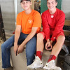 JULIE CROTHERS BEER | THE GOSHEN NEWS<br /> Brandon Lehman, 14, of Topeka and Alec Titus, 14, of LaGrange