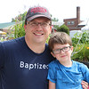 JOHN KLINE | THE GOSHEN NEWS<br /> Jeremy Gwaltney with Conner Gwaltney, 5, both of Goshen