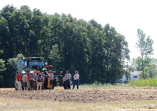 Spencer Tulis/Finger Lakes Times Empire Farm Days opened up this year Tuesday and will continue through Thursday at Rodman Lott & Son Farms on Route 414 in Seneca Falls. Farm Days offers daily demonstration, dozens of vendors and displays and plenty of great  food booths.