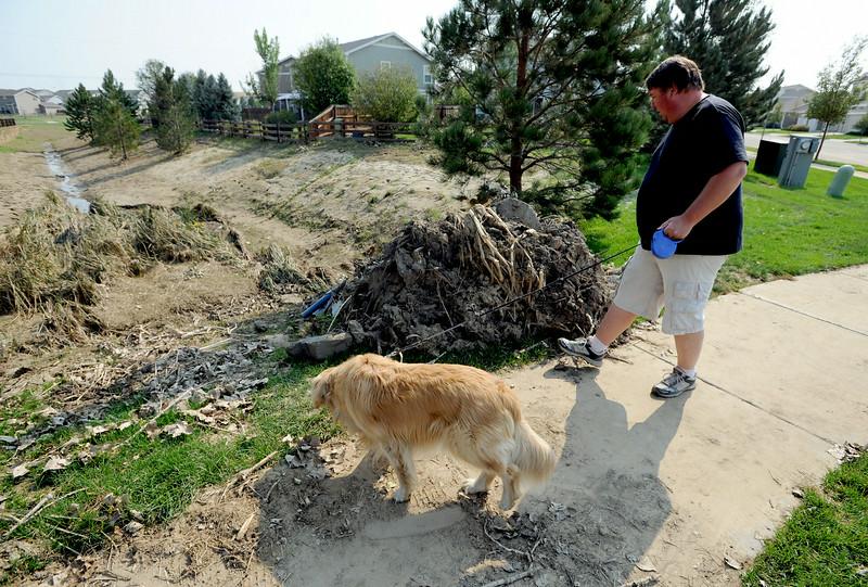 Erie Neighborhood Flood Damage