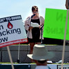"Lisa Bracken speaks about her fracking experience in Garfield County in Colorado.<br /> Scores of concerned citizens  gathered in Erie Community Park on Saturday to protest fracking in Erie, CO, by the  Encana Corp.<br /> For more photos and a video of the event, go to  <a href=""http://www.dailycamera.com"">http://www.dailycamera.com</a>.<br /> Cliff Grassmick / June 2, 2012"