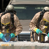 """Authorities remove and test materials at the meth lab home.<br /> Law enforcement and fire/rescue officers from around Boulder County responded to a  meth lab clean up on Bonanza Dr. in Erie on Friday. For a video of the scene, go to  <a href=""""http://www.dailycamera.com"""">http://www.dailycamera.com</a>.<br /> Cliff Grassmick / September 3, 2010"""